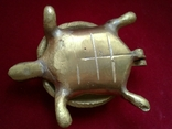 Пепельница - Черепаха. Латунь, фото №4