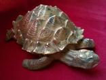 Пепельница - черепаха. Бронза. Клеймо. Вес - 1 килограм, фото №2