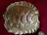 Пепельница - черепаха. Бронза. Клеймо. Вес - 1 килограм, фото №8