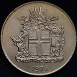 Ісландія 1 крона 1974 року, фото №6