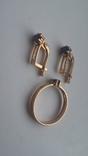 Кольцо и серьги с сапфиром, фото №12