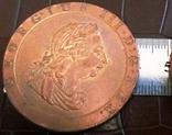 1 пенні 1797 року.  Британія копія,дзвенить не магнітна, фото №3
