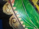 """2 Иконы в 1 лотеСв.хра.Николай"""",дерево,ручная работа,резьба и Св.Николая в рамке,освящены., фото №3"""