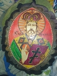 """2 Иконы в 1 лотеСв.хра.Николай"""",дерево,ручная работа,резьба и Св.Николая в рамке,освящены., фото №8"""