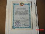 Комплект документов- военные, фото №6