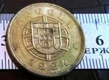 5 центаво 1924 року . Ангола КОЛОНІЯ - копія, фото №2