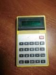 Калькулятор электроника Б3-14 1981 год., фото №2