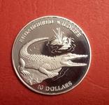 10 Соломоновые острова Крокодил 1992 год, фото №2