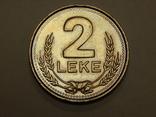 2 лека, 1989 г Албания, фото №2
