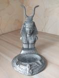 Пепельница алюминий фараон, фото №2