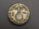 2 рейхсмарки, 1937 А Третий Рейх, фото №2