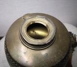 Латунна гасова лампа арт-деко, фото №4