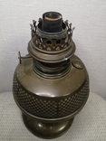 Латунна гасова лампа арт-деко, фото №8