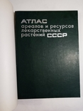 1980 Атлас ареалов и ресурсов лекарственных растений СССР (большой формат), фото №3