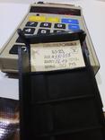 Калькуляторы Электроника Б3-23 в чехле и Sharp, фото №6
