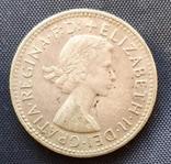 1 шиллинг Австралия Елизавета 1961г. серебро, фото №3