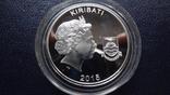 10 долларов 2015 Кирибати  серебро    (3.5.9), фото №5