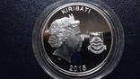 10 долларов 2015 Кирибати  серебро    (3.5.9), фото №6