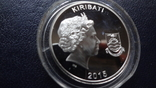10 долларов 2015 Кирибати  серебро    (3.5.9), фото №7