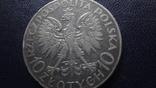10  злотых 1933 Польша Ромуал Труагутт  серебро    (3.5.14), фото №5