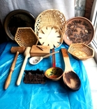 кухоные принадлежности с дерева, фото №2