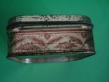 Коробка от зубного порошка ВДНХ жесть ф-ка Свобода, фото №7