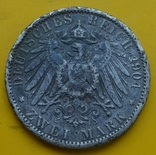 2 марки, Пруссия, 1901г., фото №3