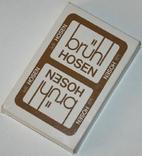 """Игральные карты """"Brühl Hosen"""" (полная колода,32 листа) BSS.,Германия"""