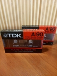 Аудиокассета TDK A-90 2шт., фото №3