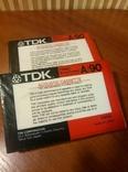 Аудиокассета TDK A-90 2шт., фото №6