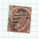 Марка.Великобритания.1870, фото №2