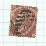 Марка.Великобритания.1870, фото №3