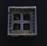 Серебренный кулон с камнями, фото №4