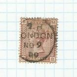 Марка.Великобритания.1880 -1881, фото №2