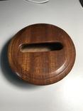 Круглая деревянная коробочка, фото №2