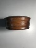 Круглая деревянная коробочка, фото №4