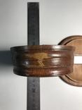 Круглая деревянная коробочка, фото №9