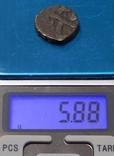 Медная монета древней Индии, фото №4