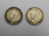 2 монеты по 3 пенса, Великобритания, фото №3