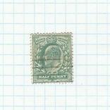 Марка.Великобритания.1902, фото №2