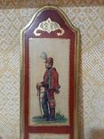 Итальянская армия (1859 г.) гусары Пьяченцы. Репродукция., фото №3