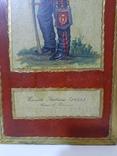 Итальянская армия (1859 г.) гусары Пьяченцы. Репродукция., фото №4