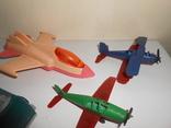 Самолет кукурузник машинка Детские игрушки 1 лотом, фото №3