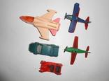 Самолет кукурузник машинка Детские игрушки 1 лотом, фото №6
