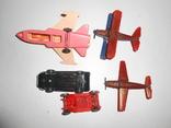 Самолет кукурузник машинка Детские игрушки 1 лотом, фото №7