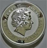 """1999 Австралия, серебро, 1 килограмм """"Год Кролика"""", фото №6"""