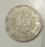 10 злотых 1935 года Пилсудский, фото №5