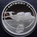 1 доллар 2008 о-ва Кука АН-74 унция серебро, фото №2