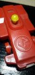 Винтажная миниатюрная гоночная машинка с гонщиком из СССР, клеймо, фото №5