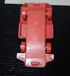 Винтажная миниатюрная гоночная машинка с гонщиком из СССР, клеймо, фото №8